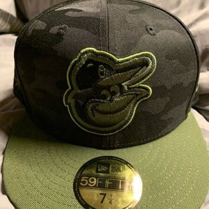 New Era Orioles Memorial Day Fitted Cap